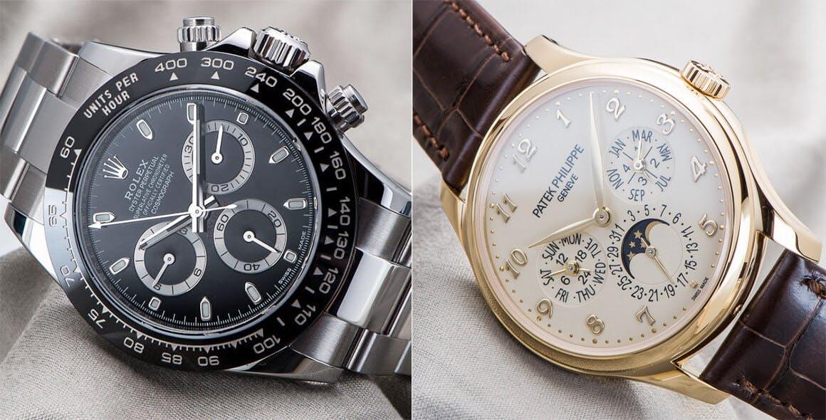 c9bfae386c6 Deux piliers de l horlogerie   Rolex et Patek Philippe