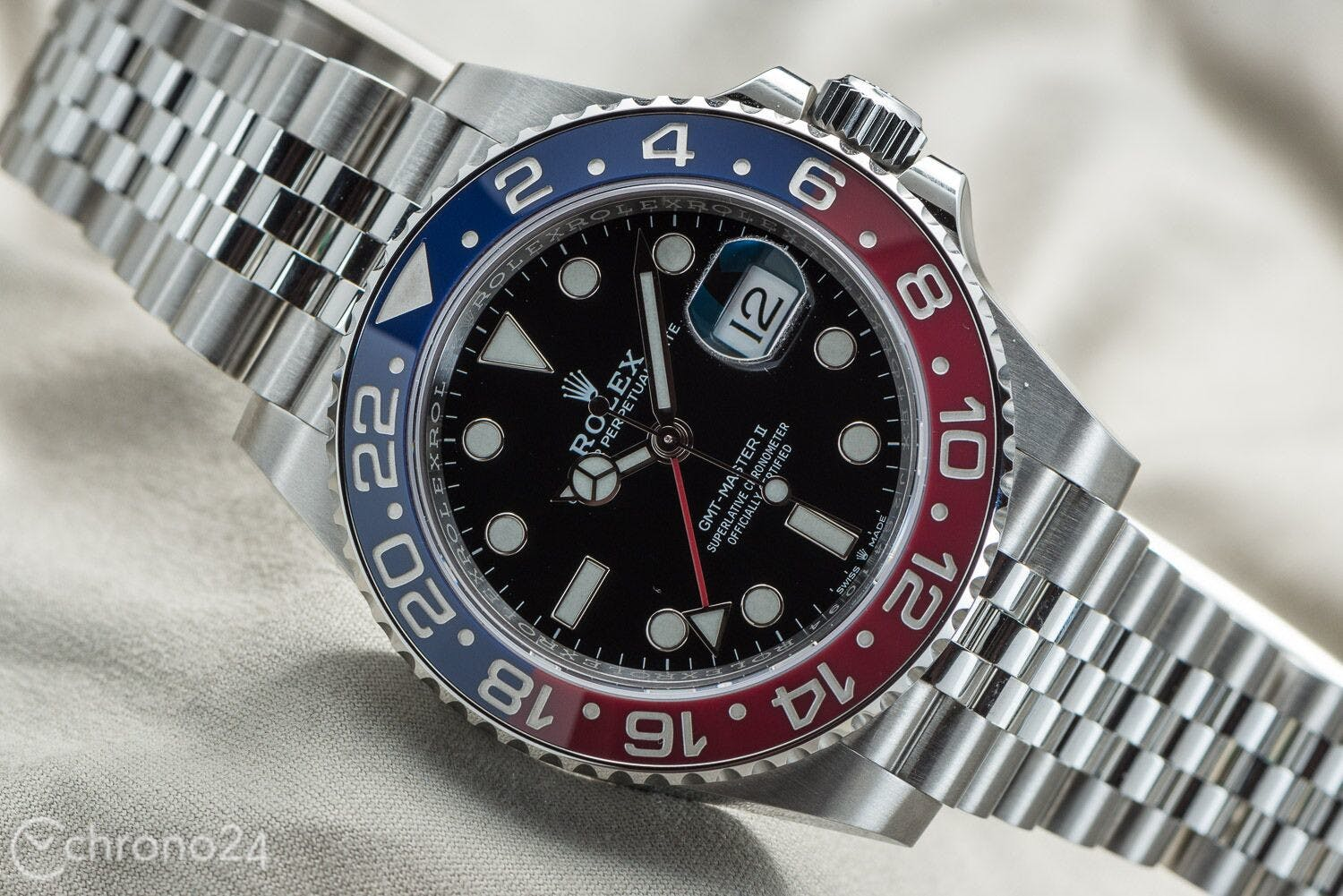 Relojes GMT Rolex GMT-Master II Acero Inoxidable