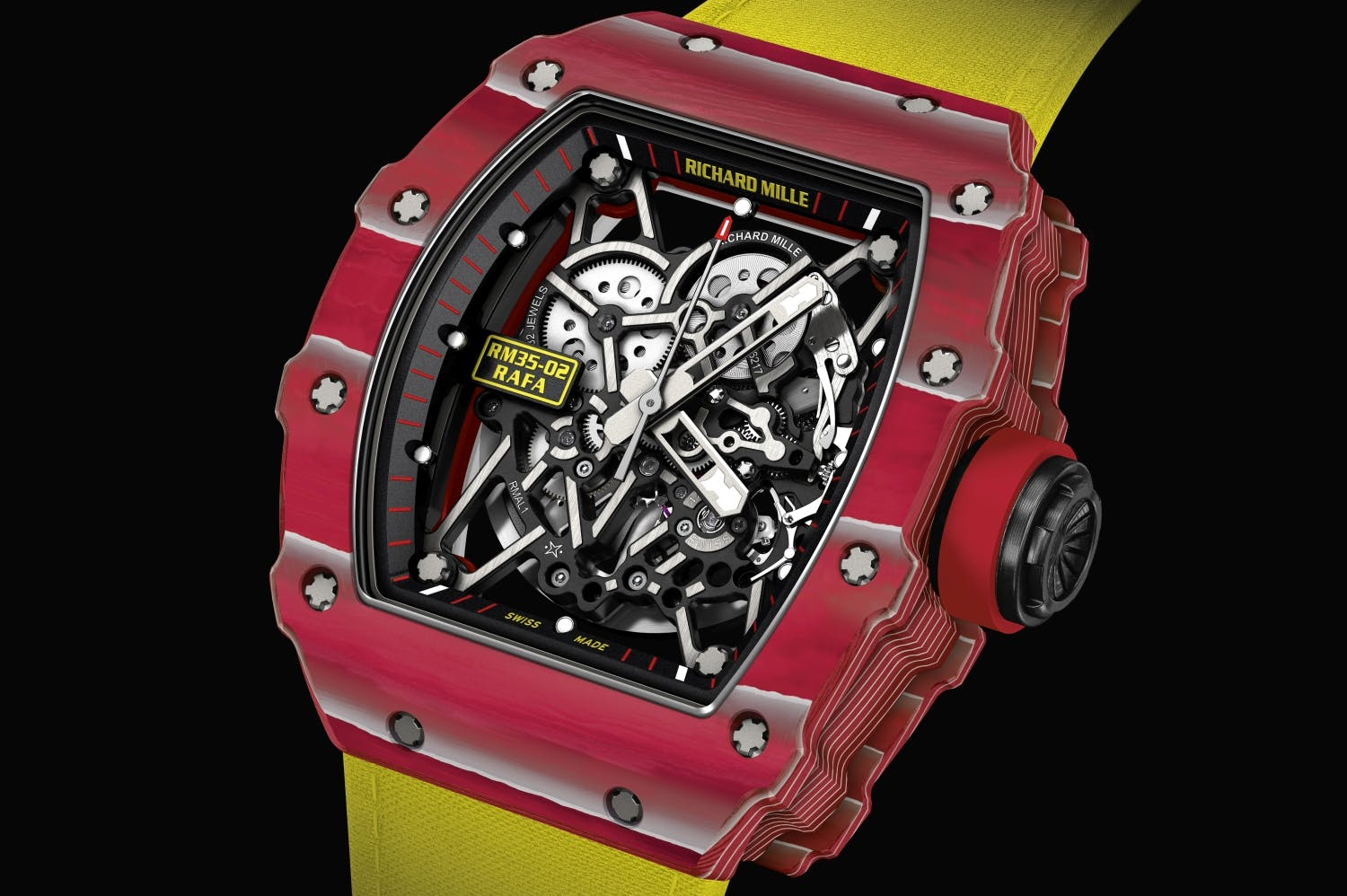 Richard Mille RM 35-02 – resistente a los golpes hasta 5000 G