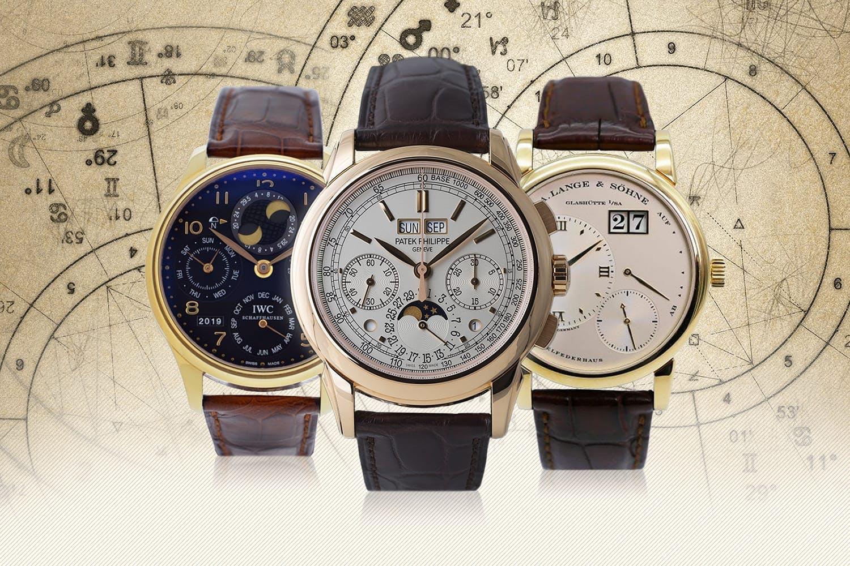 f128336e57de Gran complicación  relojes con calendario perpetuo