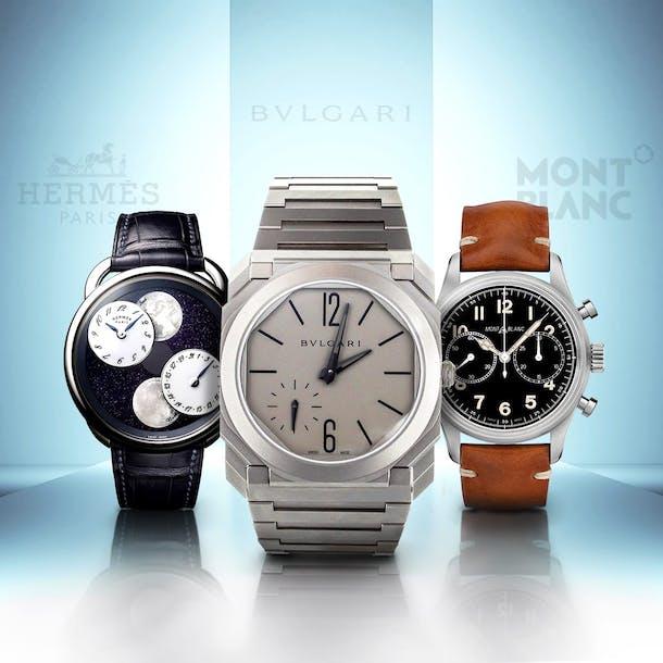 2c6a92c440a5 Algunas marcas de joyas y moda apuestan por los relojes de lujo