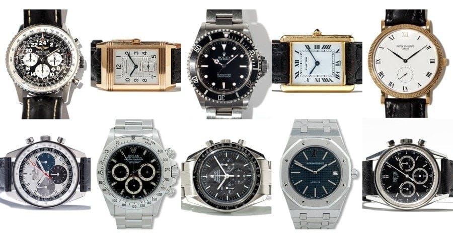 Top 10 Uhrenklassiker, Bilder: Auctionata, All About Watches