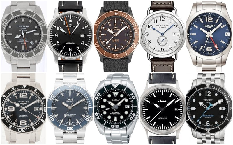 Top 10 watches under 1 000 - Best dive watches under 1000 ...