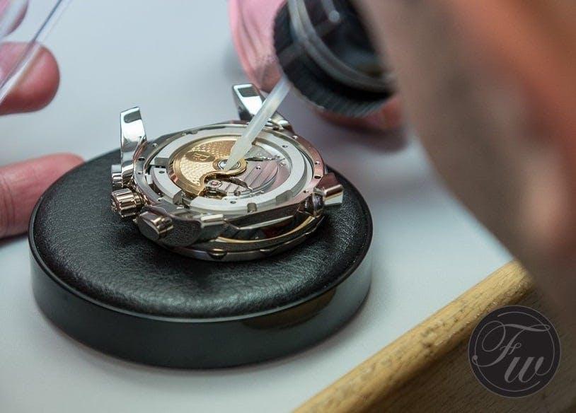 Art of watchmaking