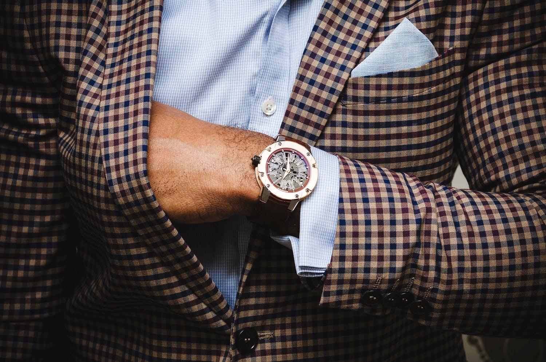 Richard Mille wristshot