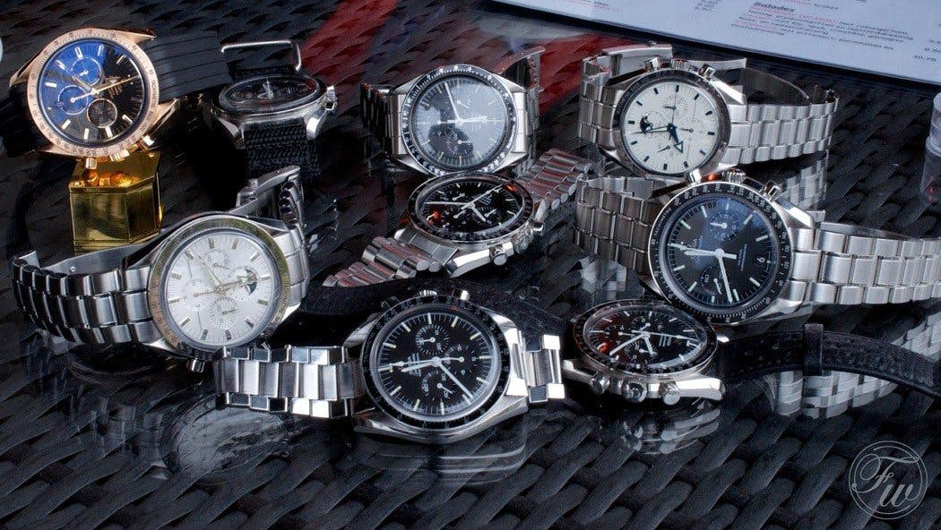 Omega Speedmaster Professional models