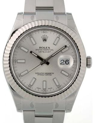 Rolex Datejust II silber