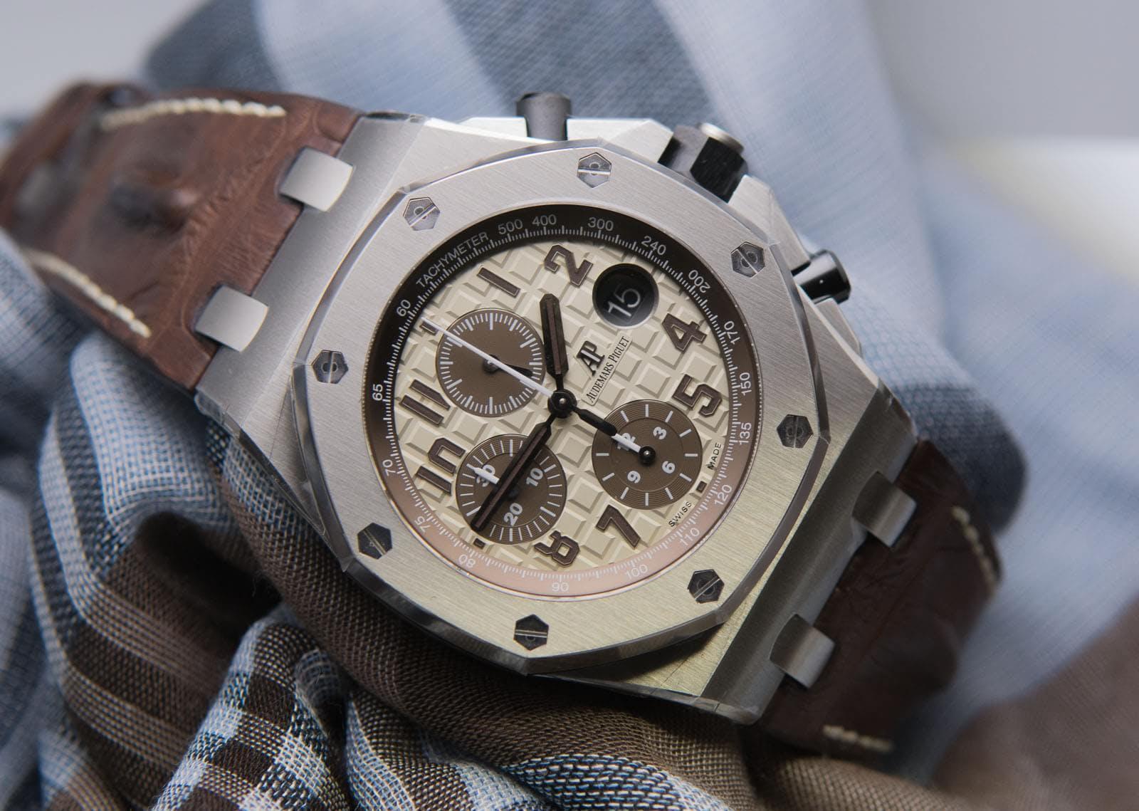 Legendary watches audemars piguet royal oak for Royal oak offshore n7243