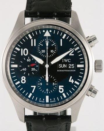 IWC Schaffhausen Pilot Chronograph 3717