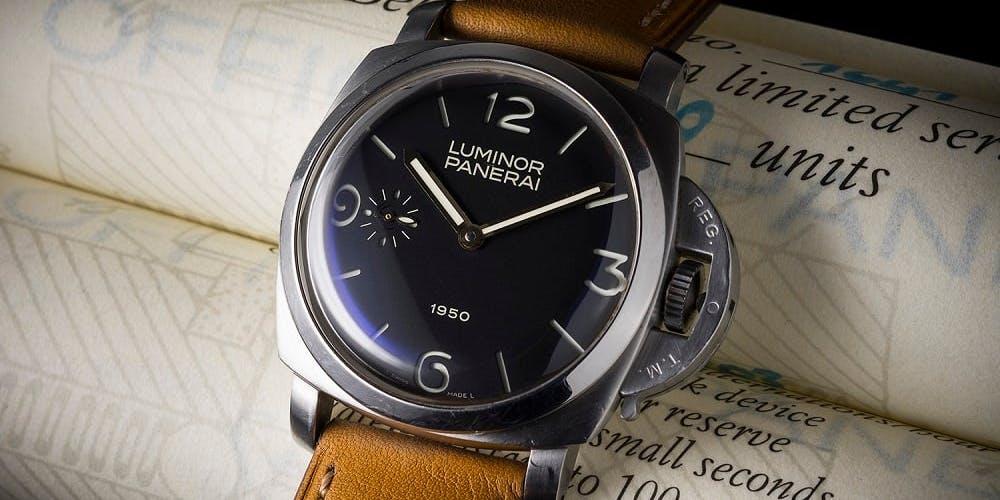Marcas de relojes legendarias: Officine Panerai, relojes de lujo con carácter deportivo
