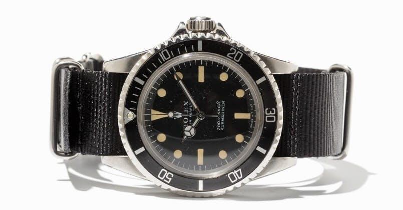 Rolex Submariner NATO dây đeo