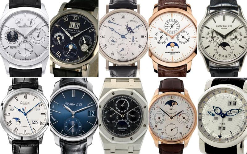 Perpetual Calendar Watch >> Top 10 Perpetual Calendars
