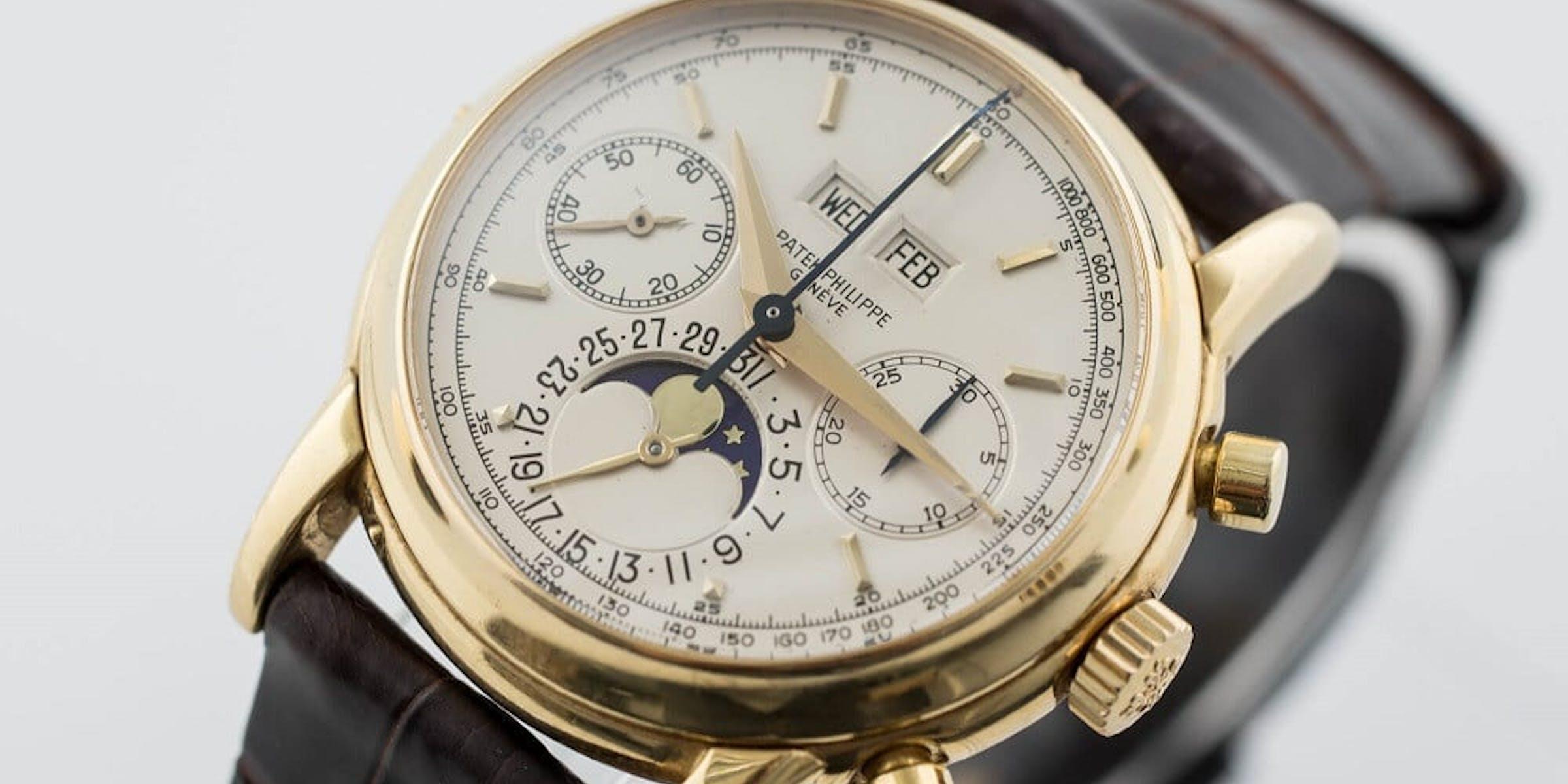 Patek Philippe Perpetual Calendar Chronograph Ref 2499