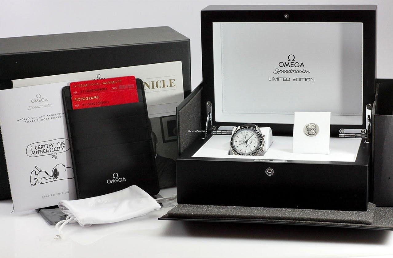 Omega Speedmaster Snoopy Full set
