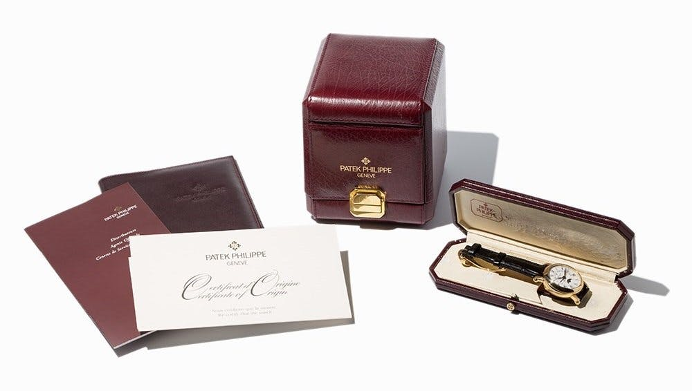 Patek Philippe with box and papers