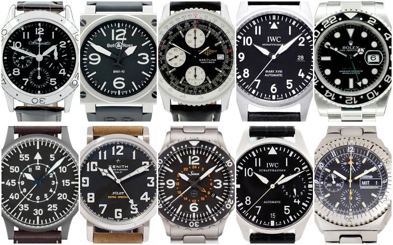 Top 10 Pilots Watches