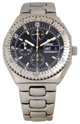 Tutima Military Chronograph Lemania