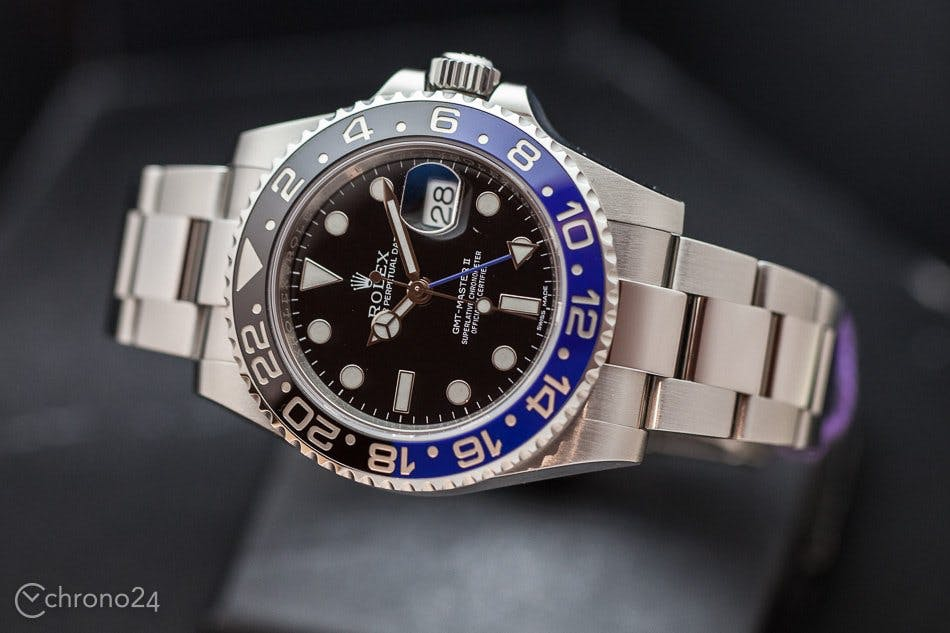 Rolex GMT Master 'Batman'