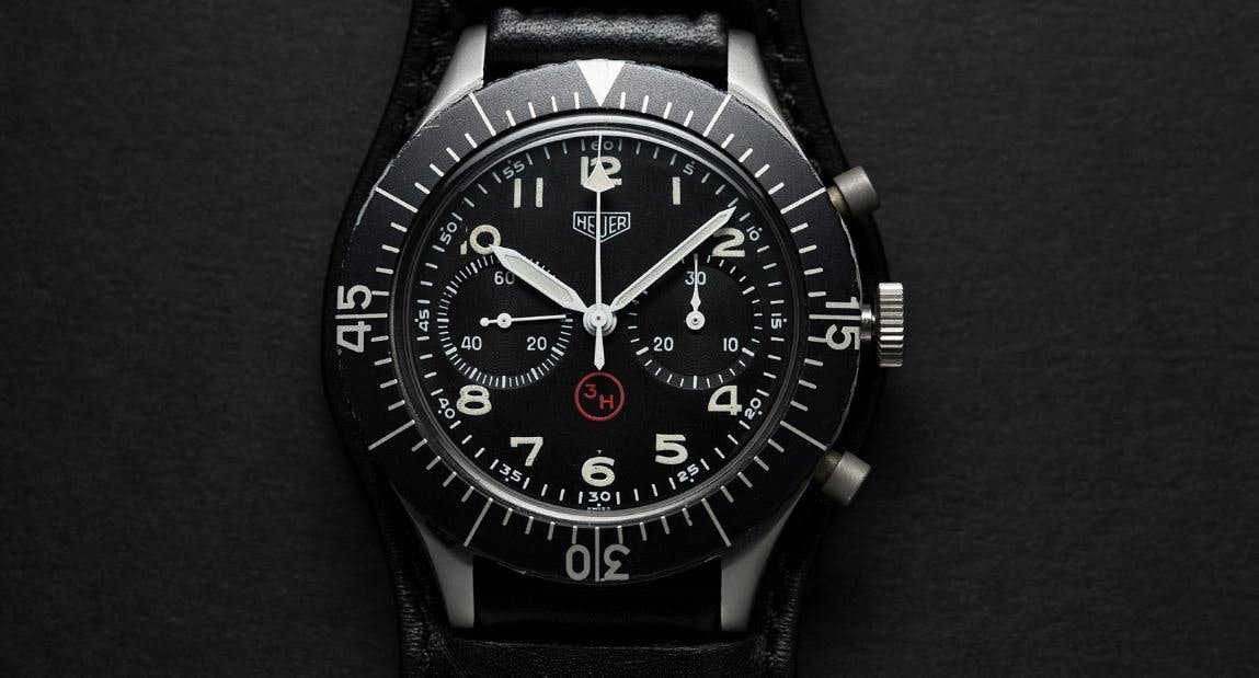 Heuer Bund Flyback Chronograph Image Christopher Beccan
