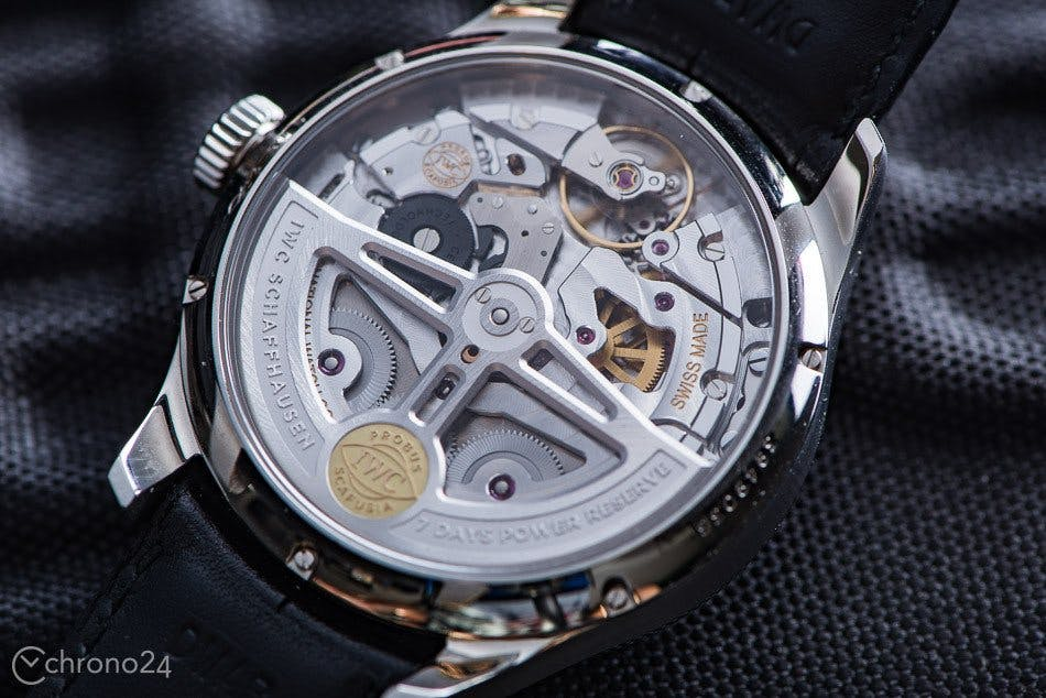 IWC Schaffhausen inhouse movement