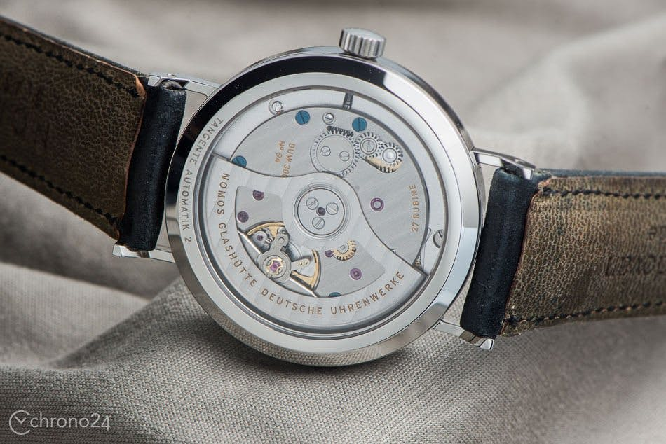 Nomos inhouse movement