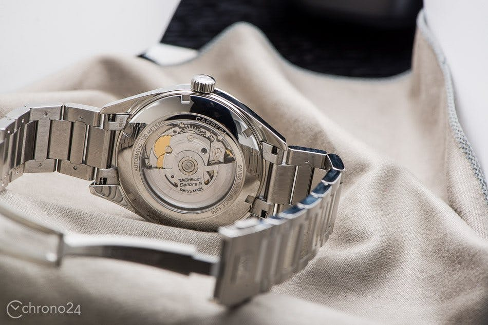 TAG Heuer Carrera with ETA-based movement