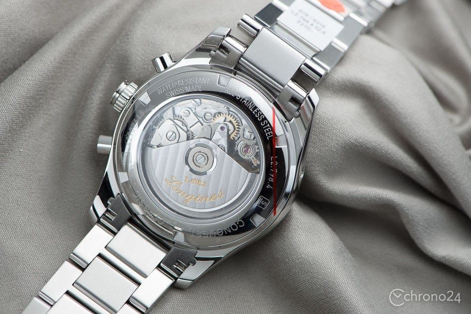 Longines Conquest with ETA 7750-based movement
