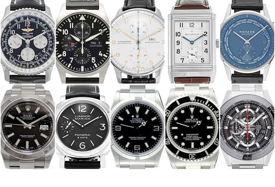 top 10 des montres moins de 6000. Black Bedroom Furniture Sets. Home Design Ideas