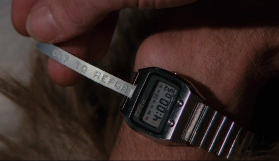 Seiko 0674LC, Image: Danjaq LLC, Sony Pictures Entertainment
