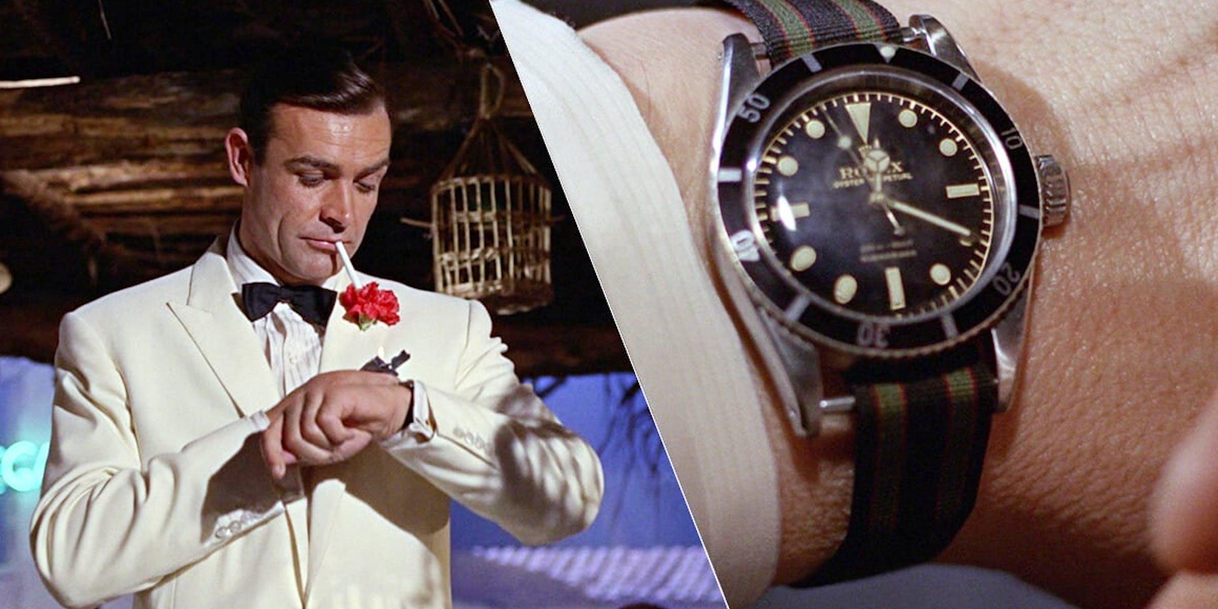 James Bond Watches, Images: Danjaq LLC, Sony Pictures Entertainment