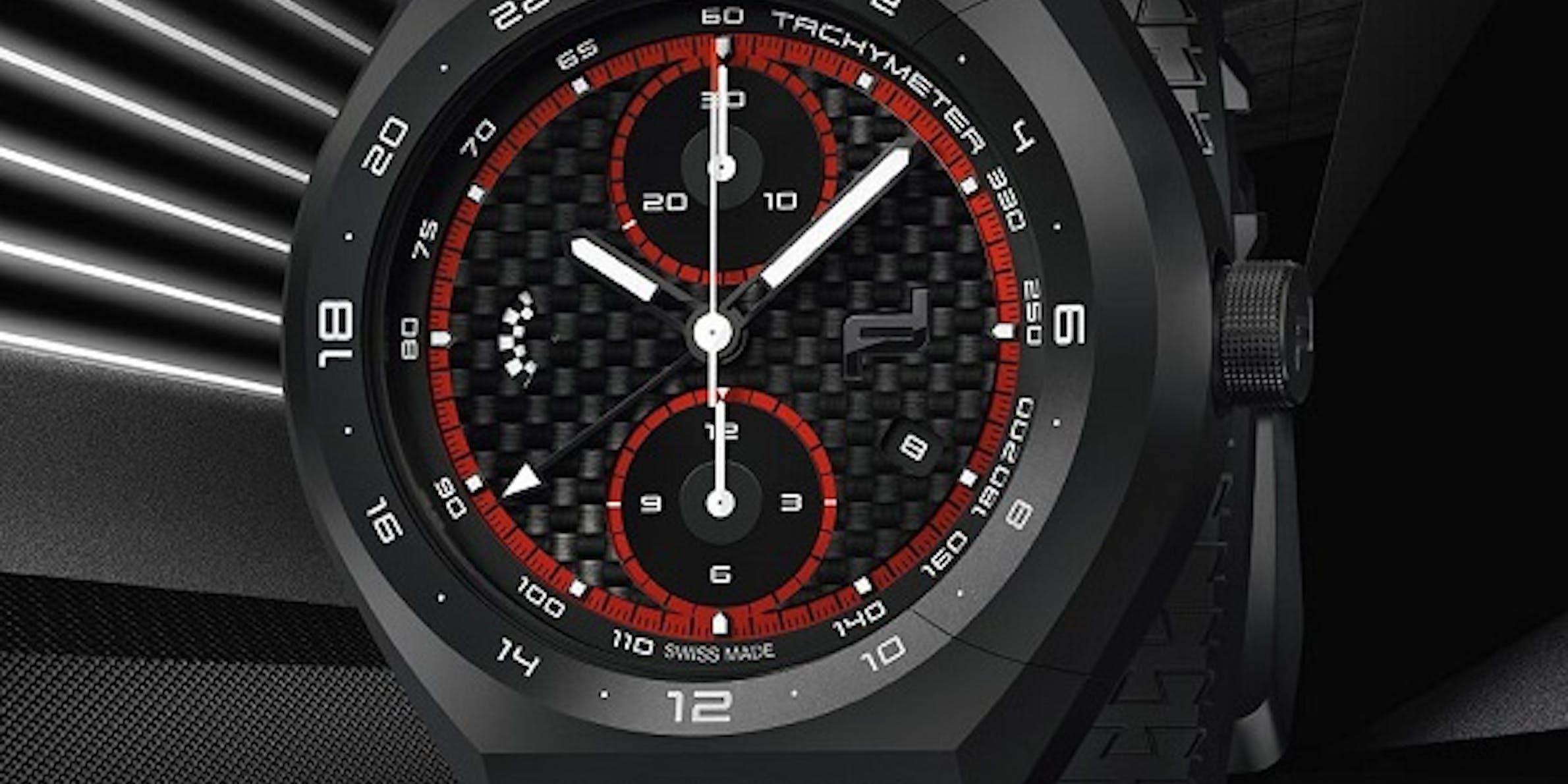 Porsche Design Monobloc Actuator 24H Chronotimer Teaser, Bild Porsche Design