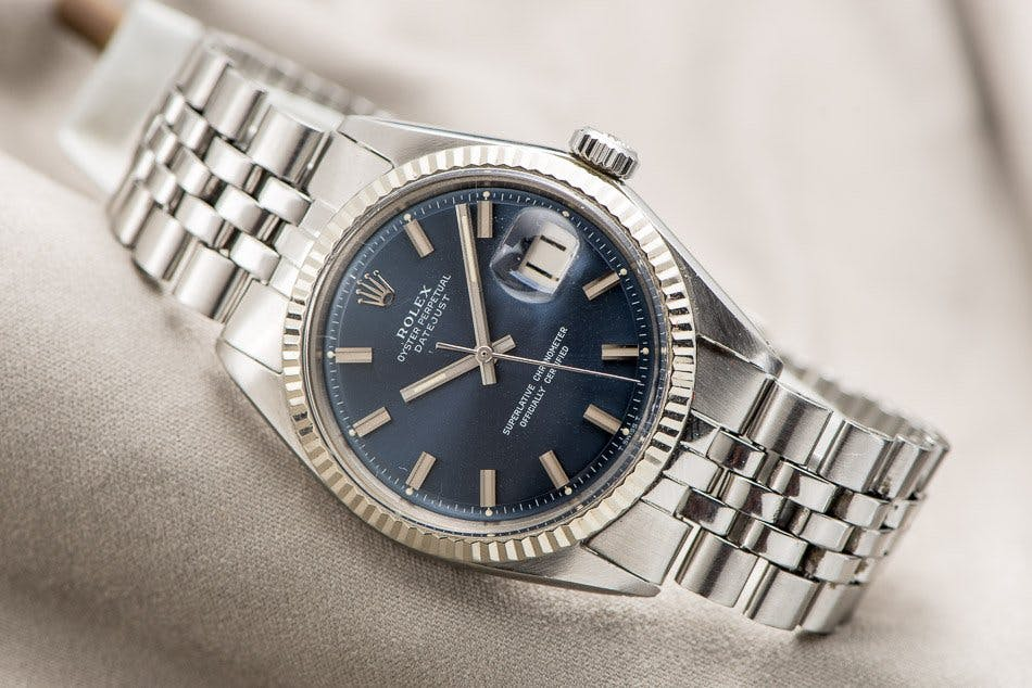 Rolex Datejust with Jubilee bracelet