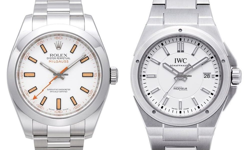 Rolex Milgauss vs IWC Ingenieur
