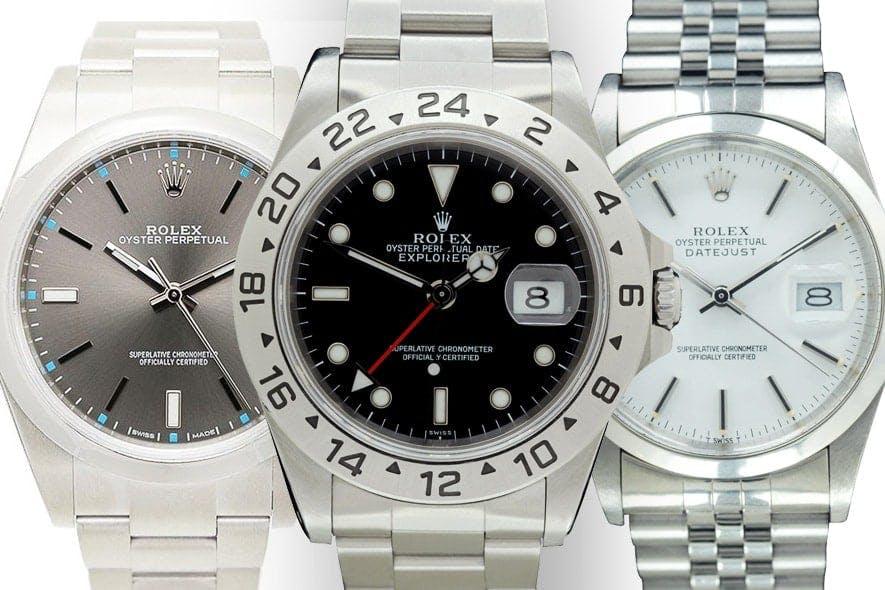 migliore a buon mercato 5d637 51685 Tre modelli Rolex accessibili