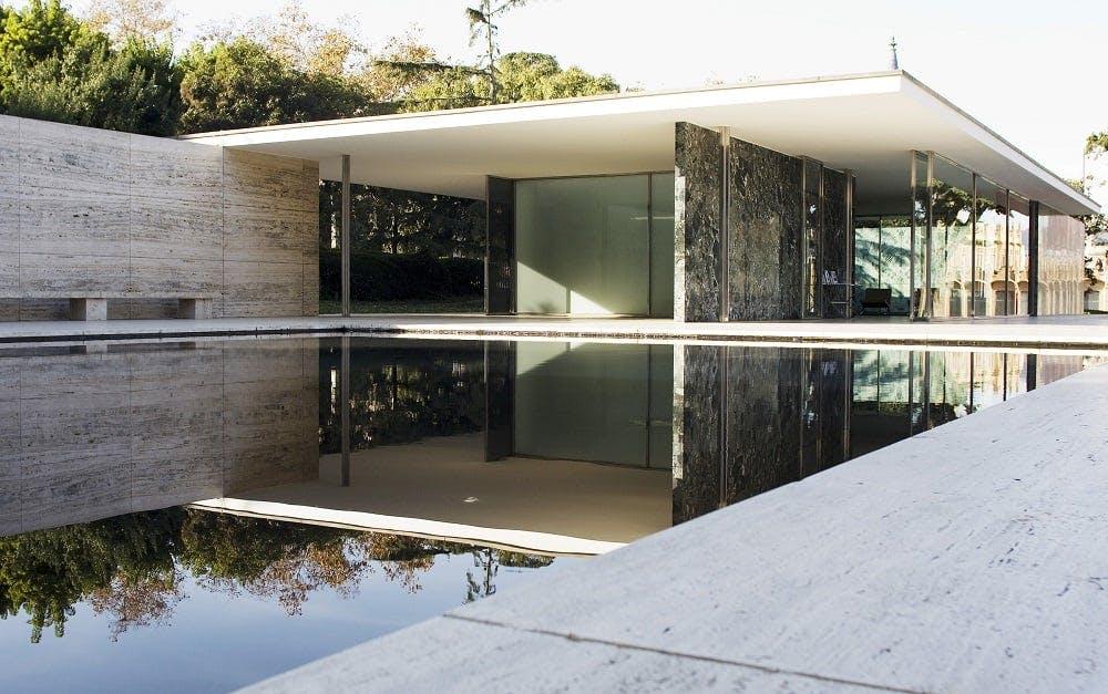 Mies van der Rohe Barcelona-Pavillon