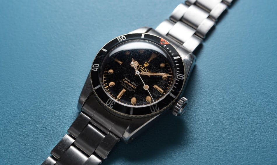 Rolex Submariner Big Crown