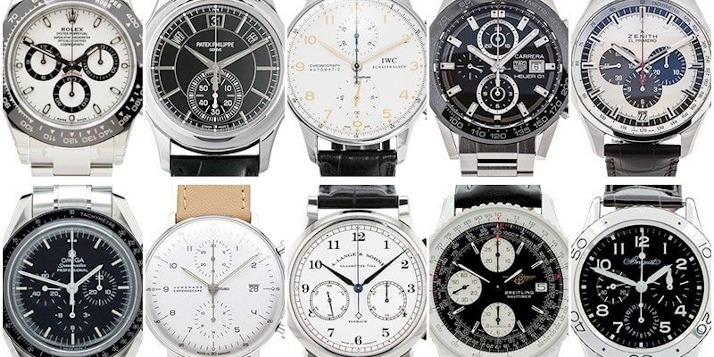 Top 10 Chronographs