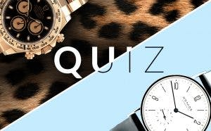 Quiz Which watch type are you