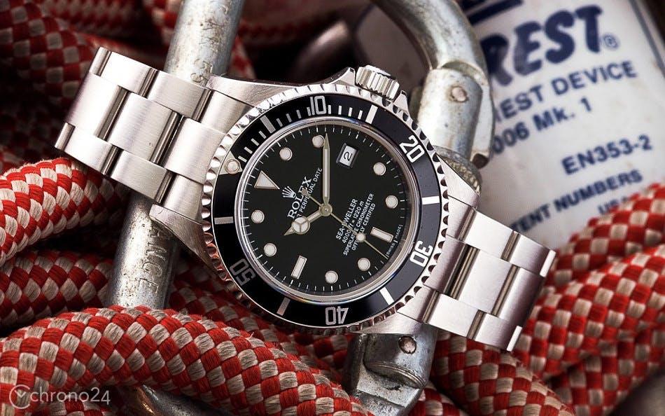 Rolex Sea Dweller, Foto: Bert Buijsrogge