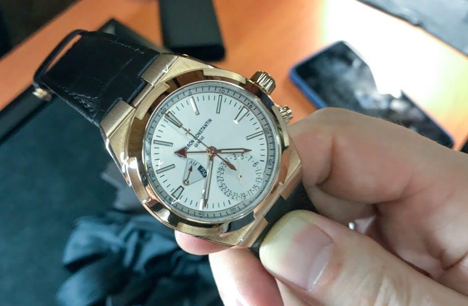 New Vacheron Constantin Overseas Dual Time
