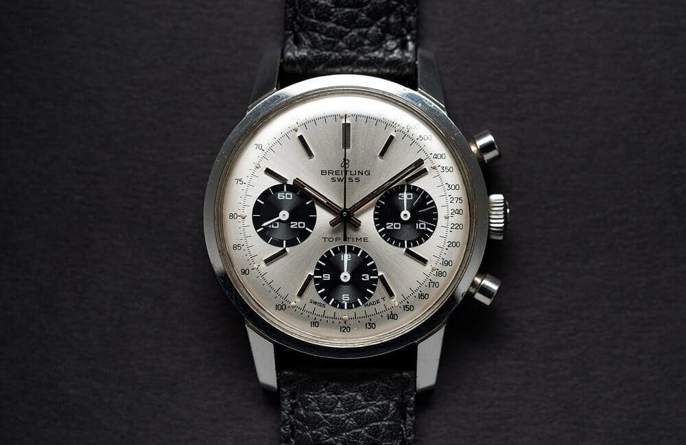 Breitling Top Time Chronograph, Image: Christopher Beccan