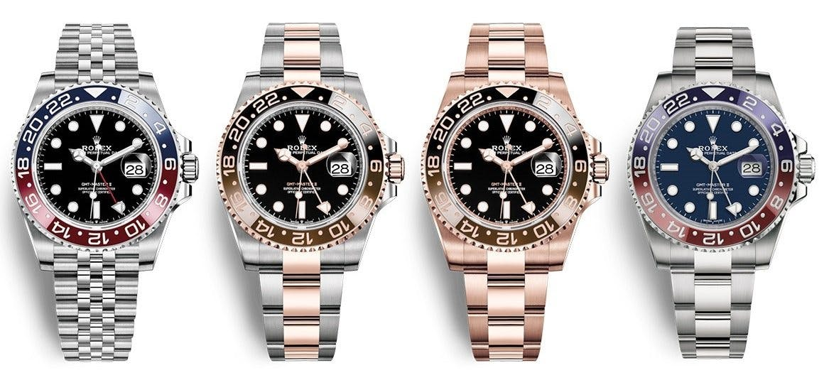 New Rolex GMT Master II models