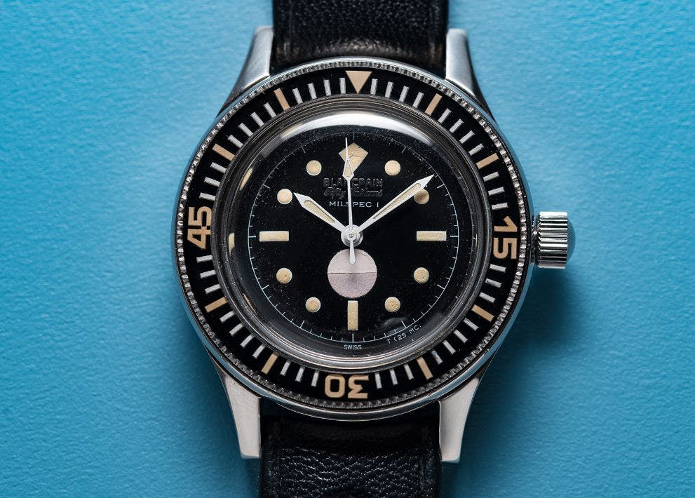 Blancpain Fifty Fathoms, Image: Christopher Beccan