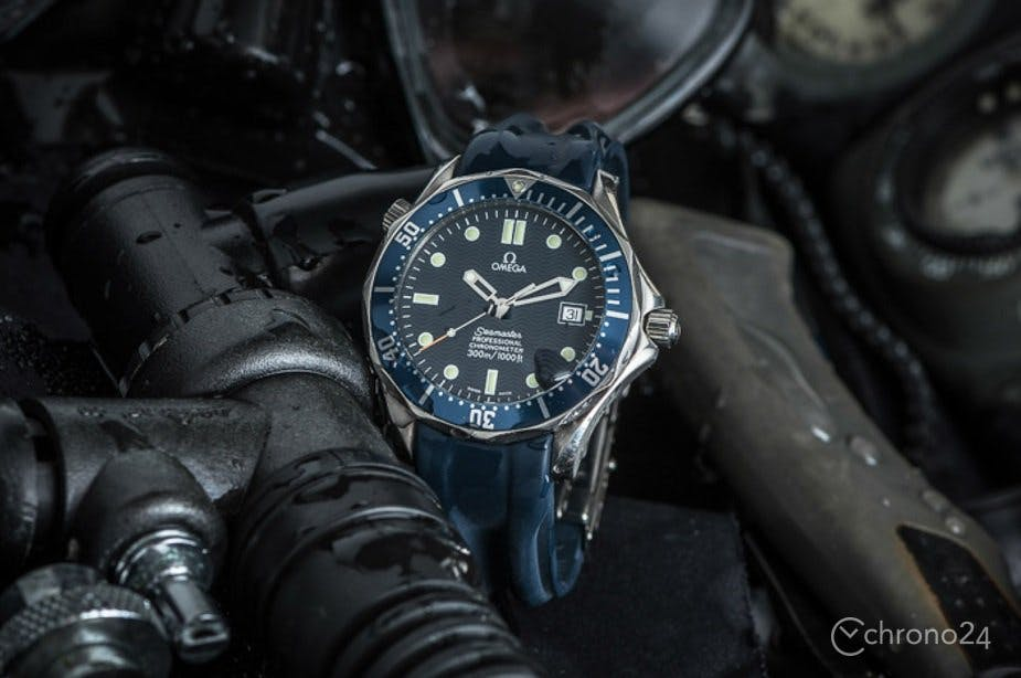 The classic Omega Seamaster Diver 300M
