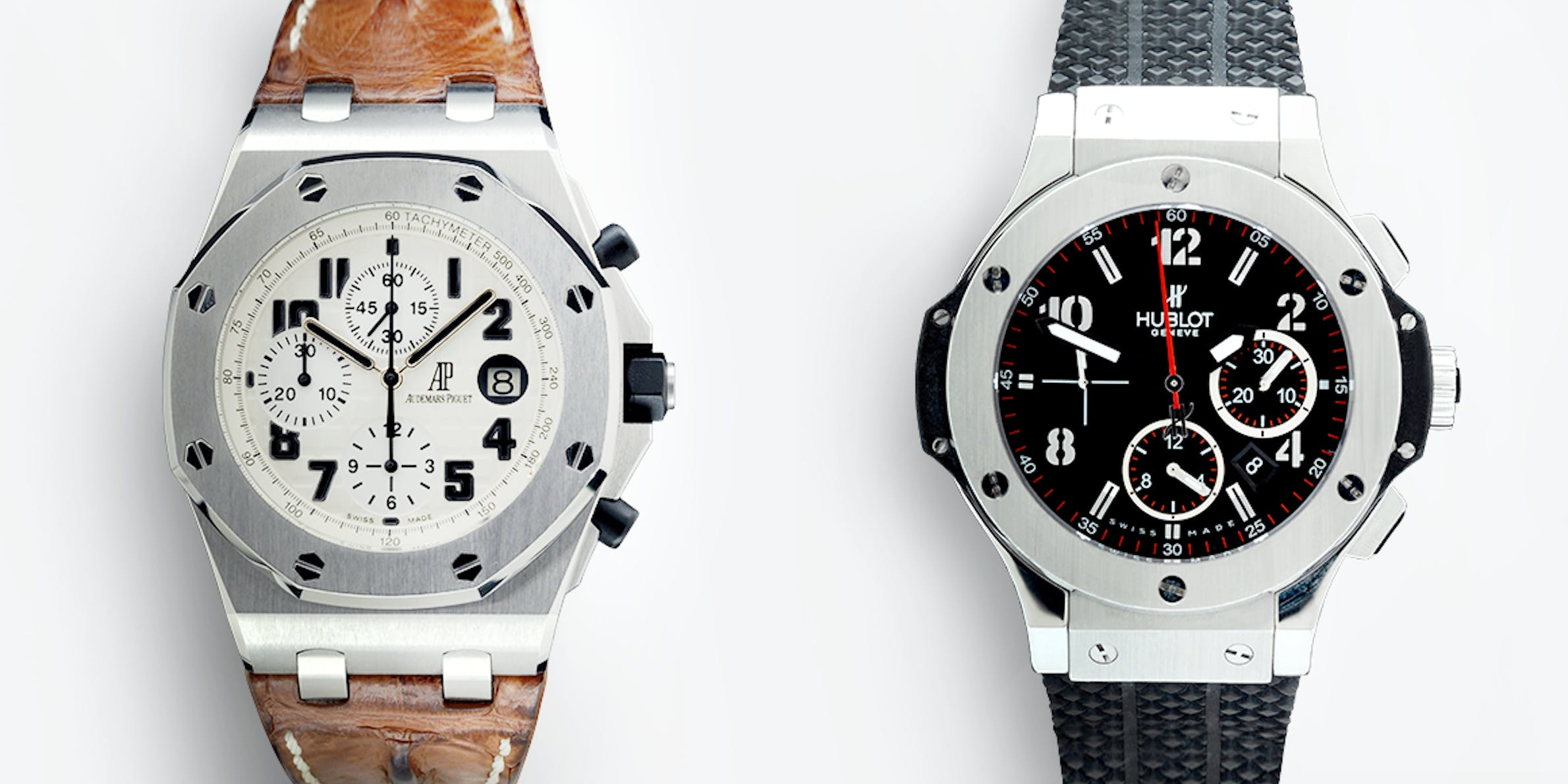 Audemars Piguet Royal Oak Offshore vs Hublot Big Bang