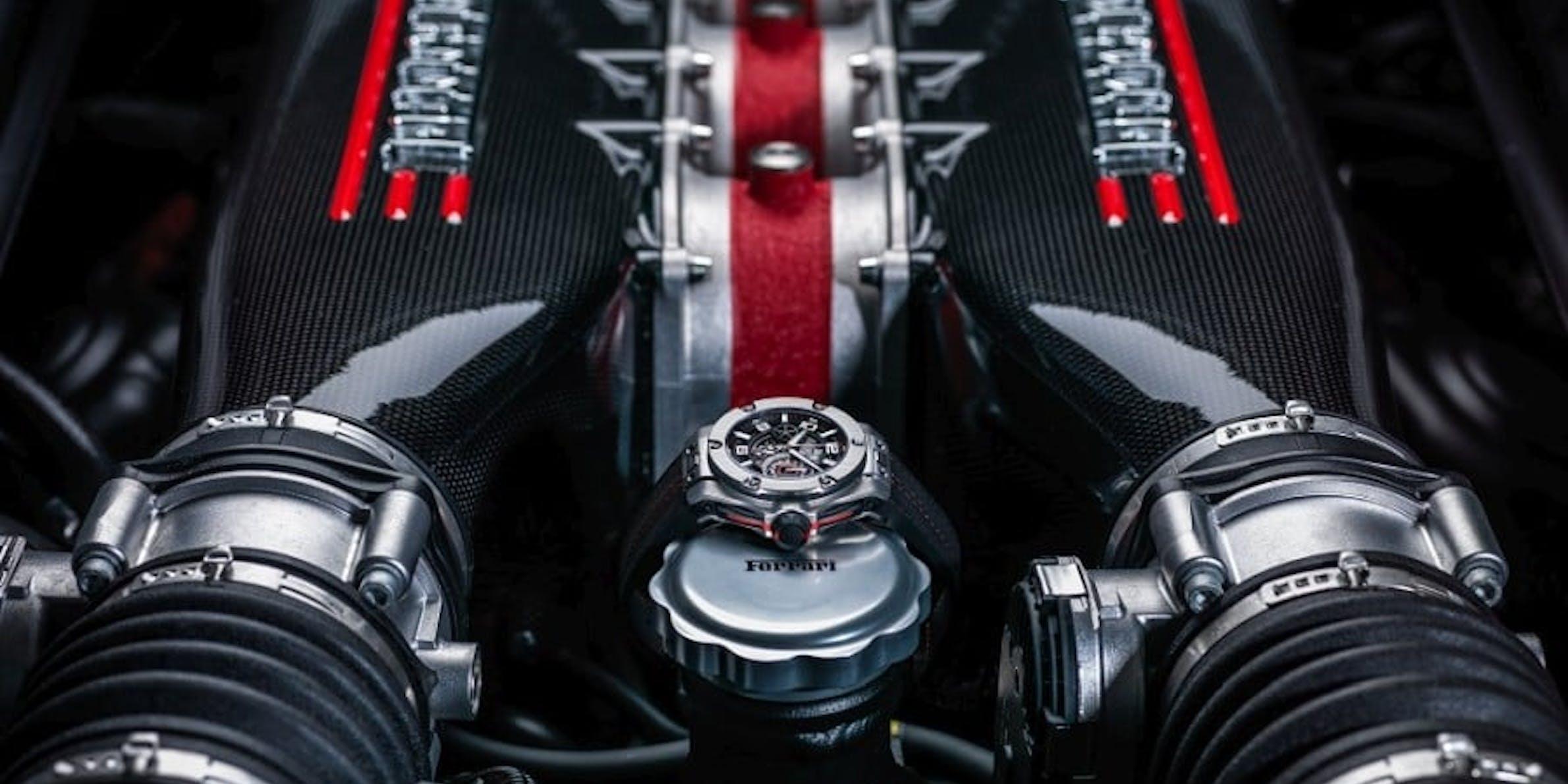 Hublot Ferrari partnership