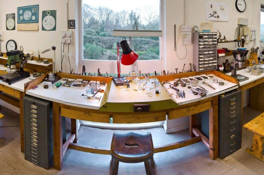 Where watches are created, Image: Roger Smith