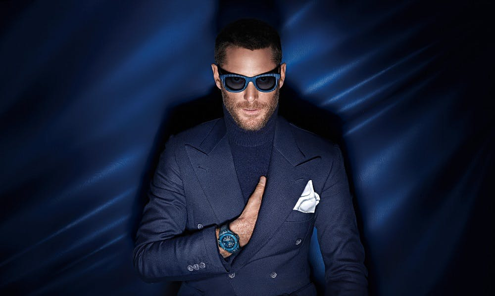 Lapo Elkann Hublot Italia Independant Partnership