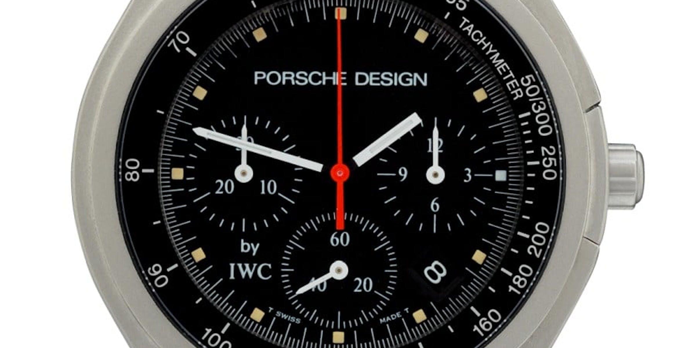 IWC Schaffhausen Porsche Design Titanium Chronograph
