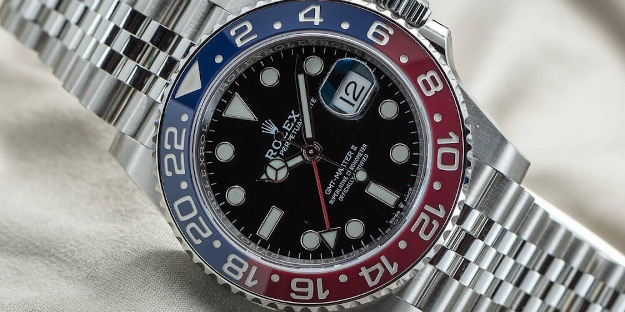 Rolex GMT Master II Pepsi 126710BLRO, Imagen: Bert Buijsrogge